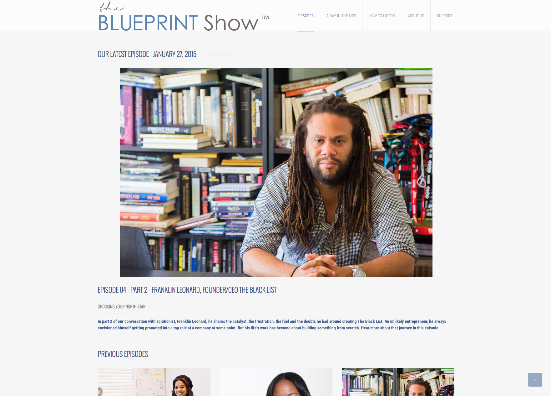 How to listen the blueprint show malvernweather